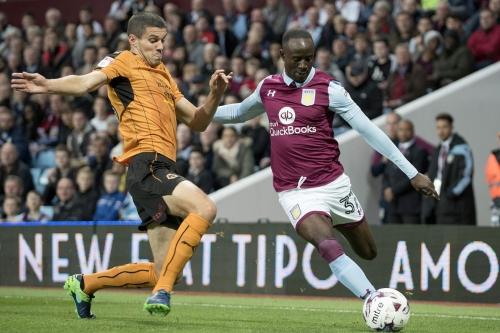 WATCH: Adomah's penalty puts Villa 2-0 up
