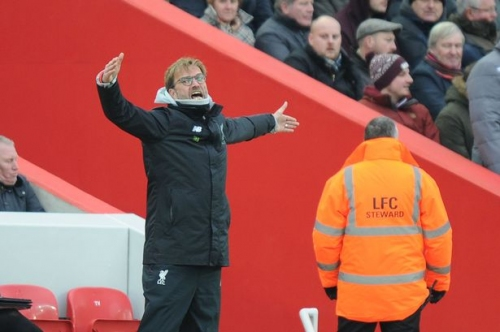 Jurgen Klopp upset with Liverpool's defence after defeat to Swansea City at Anfield