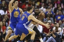 Warriors smother Rockets beyond the arc, roll to sixth-straight victory