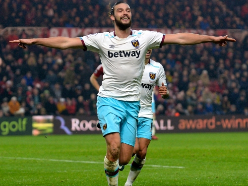 Andy Carroll gives Middlesbrough with a pain in the neck as West Ham striker's resurgence continues