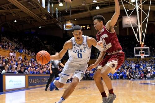 HALFTIME SCORE: North Carolina 34, Boston College 33; Ky Bowman has 21 points