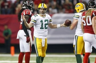 Packers QB Aaron Rodgers questions authenticity of the Falcons' crowd noise