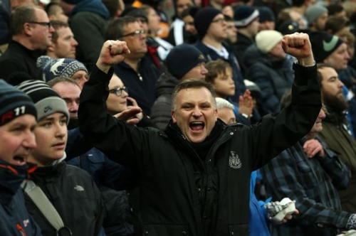 Newcastle United V Rotherham fans gallery: Did our photographer snap you at St James' Park during the 4-0 win?