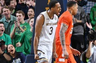 Notre Dame Basketball: Beachem's Six Threes Lead #15 Irish Past Syracuse