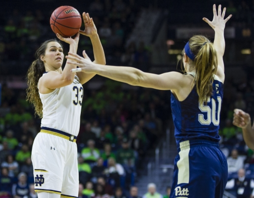 Notre Dame women's basketball piecing it together