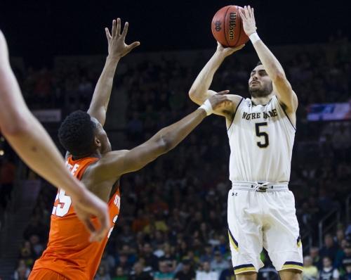 Lesar: Notre Dame guard Matt Farrell measures up with ACC's best