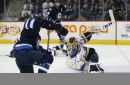 Little scores twice, Jets beat Blues 5-3 The Associated Press