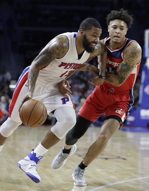 Morris' buzzer-beater lifts Pistons past Wizards 113-112 The Associated Press