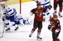 Arizona Coyotes' offense keys win over Tampa Bay Lightning