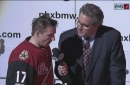 Vrbata: 'You play with a lead ... you don't have to chase the game