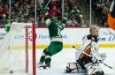 Wild storm back in 3rd period, defeat Ducks 5-3 to put a wrap on Hockey Day Minnesota