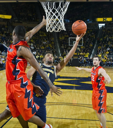 Inspired by comment, Michigan beats Illinois