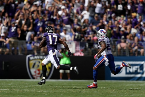 The Ravens simply can't cut Mike Wallace.