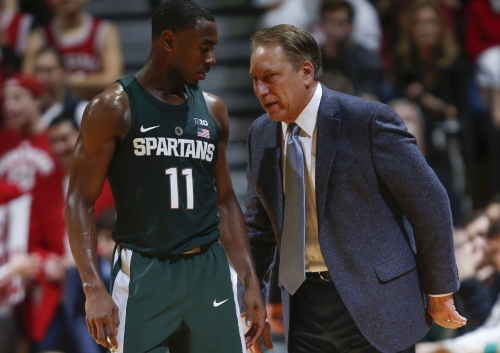 Michigan State hears the record skip, again, as Indiana loss has familiar feel