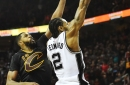 Spurs make prime time statement in overtime win over Cleveland