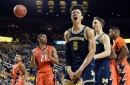 D.J. Wilson stuffs the stat sheet in Michigan's win over Illinois