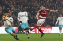Middlesbrough 'can feel aggrieved' at not taking something against West Ham