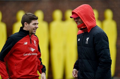 Steven Gerrard: 'Jurgen Klopp is world-class manager - Liverpool are lucky to have him'