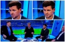 'Classless' - BT Sport's Jake Humphrey criticised for awkward 'slip' joke to Steven Gerrard