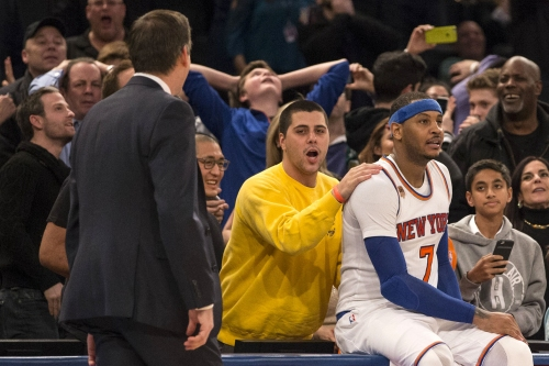 Knicks' same old story: A painful Carmelo Anthony miss at buzzer