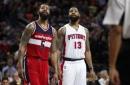Washington Wizards Fall To Detroit Pistons, Marcus Morris Hits Buzzer Beater