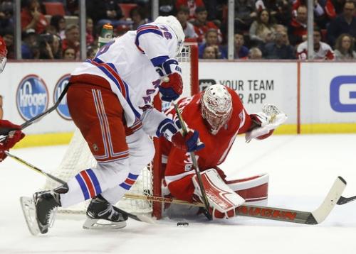 Miller's goal gives Rangers 1-0 win over Detroit in OT The Associated Press
