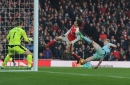 Sean Dyche calls for video replays in Premier League after offside decision gifts Arsenal victory again