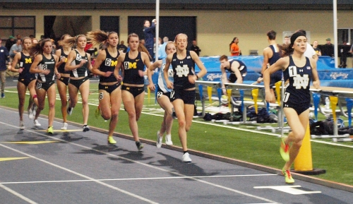 Runner Molly Seidel getting comfortable back at Notre Dame