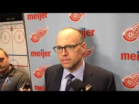 Roster crunch forced Red Wings to waive valued Drew Miller