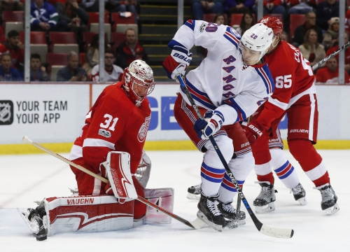 Jared Coreau gives Red Wings a chance in OT loss vs. Rangers