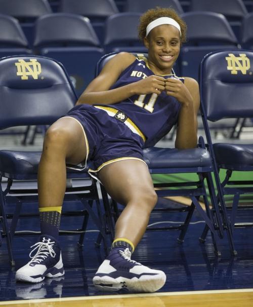 Notre Dame women's basketball pulls inside job on North Carolina