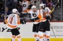 Giroux scores 3:20 into OT to lift Flyers past Islanders