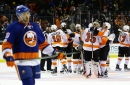 Flyers 3, Islanders 2 (OT): Weight's first loss comes via 3-on-3