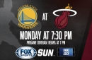 Golden State Warriors at Miami Heat game preview