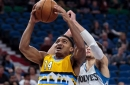 Gary Harris is back and scoring buckets for the Denver Nuggets