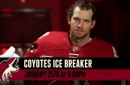 Join special guest Mike Smith at Coyotes Ice Breaker