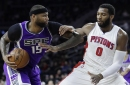 Kings snap 5-game skid with 109-104 win over Pistons The Associated Press
