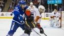 Kadri joins century goal club in big Leafs win over Flames [Photos]