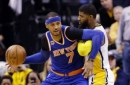 Knicks hold off Pacers' late charge for 109-103 victory