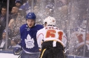 Leafs' scoring depth too much for Flames