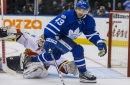 Nazem Kadri matches career-high with two-goal effort as Leafs bury Flames 4-0