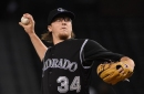 Rockies pitcher Jeff Hoffman prepared for a rotation spot in 2017