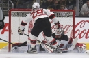 Devils lines vs. Los Angeles Kings (1/24/17)