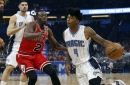 Shorthanded Magic fall to the Bulls, 100-92