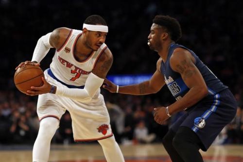 Dallas Mavericks vs. New York Knicks - 1/25/17 NBA Pick, Odds, and Prediction - Sports Chat Place