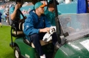 Dolphins yet to decide if QB Ryan Tannehill needs knee surgery