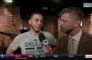 Seth Curry on 103-95 win over New York at home