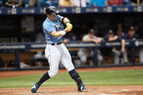Which Rays Barreled The Ball Most Frequently In 2016?