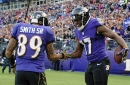 Ravens Mike Wallace and Steve Smith both ranked among the league's best at creating separation