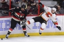 Gaudreau scores late in OT, Flames edge Senators to end skid The Associated Press